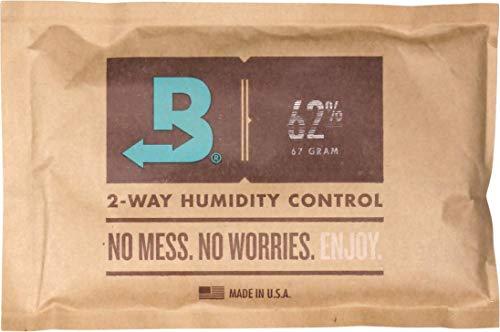 "Boveda Humidipak 2-Way Humidifer groß 62"" 13.4 x 8.7 cm Befeuchtung 62% - Inhalt: 67 g pro Beutel"