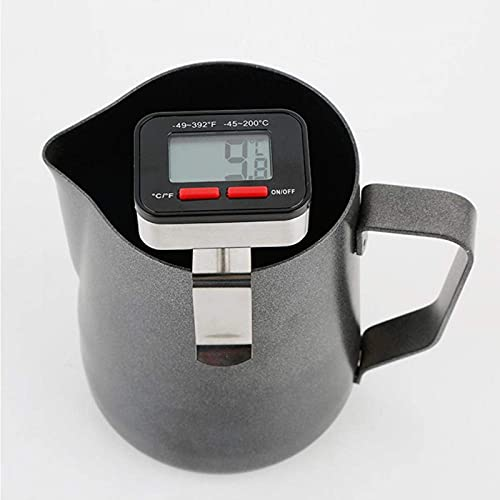 Thermometer-Espresso Cappuccino Coffee Digital Cooking Thermometer Instant Read Meat Thermometer
