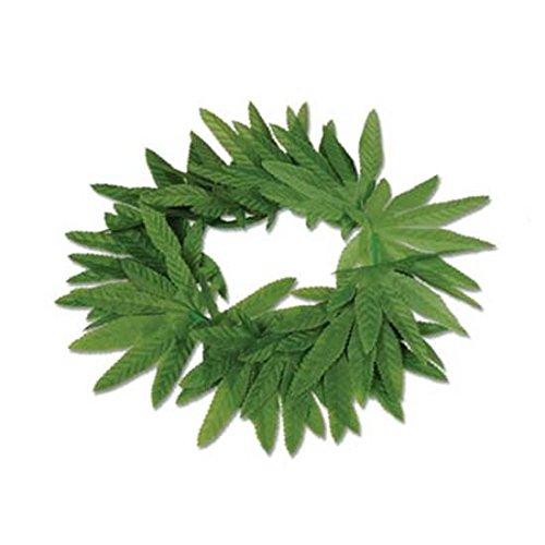Beistle Company Tropical Fern Leaf Headband