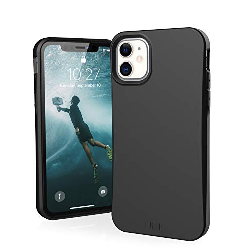 Urban armor gear outback-bio apple iPhone 11 cover protettiva rugged custodia (compatibile con il qi wireless, ultra slim protezione case, antiurto) - nero.