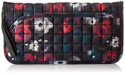 Lug Tango Passport Wallet, Water Color Black, One Size