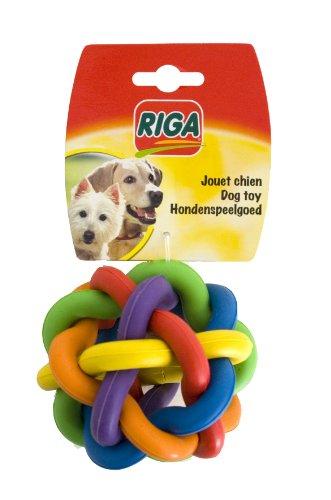 Riga 2995 Hundespielzeug Kugel, Kautschuk, groß