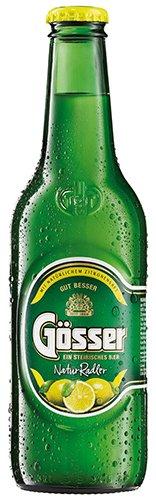 24x Gösser - NaturRadler Zitrone - 330ml