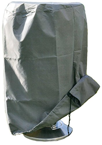 Brandsseller Grill - Abdeckung Schutzhaube Schutzhülle mit Zugband Wasserdicht - Geeignet für Rundgrills ca. 50 x 80 cm
