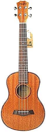 Ukelele Tenor Acústico Eléctrico Ukelele 26 Pulgadas Guitarra Viaje 4 Cuerdas Madera Caoba Instrumento Música