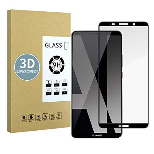 E-Hamii Screen Protector Compatibile con Huawei Mate 10 PRO[Nero],[Alta Definizione][Anti Graffio],Vetro Temperato 3D,[Sensitive Response][Installazione Senza Bolle]