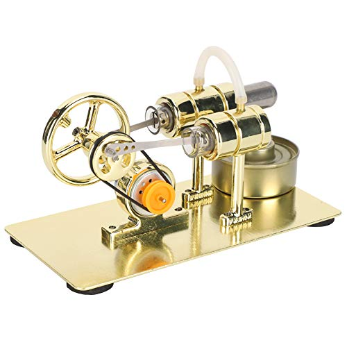 Fydun Stirlingmotor Modell, Externe Verbrennung Stirlingmotor Motormodell Physik Wissenschaft Bildung Spielzeug