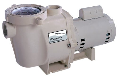 Pentair 011775 WhisperFlo High Performance 2.5 HP Pump44; 230 Volt44; 1 Phase