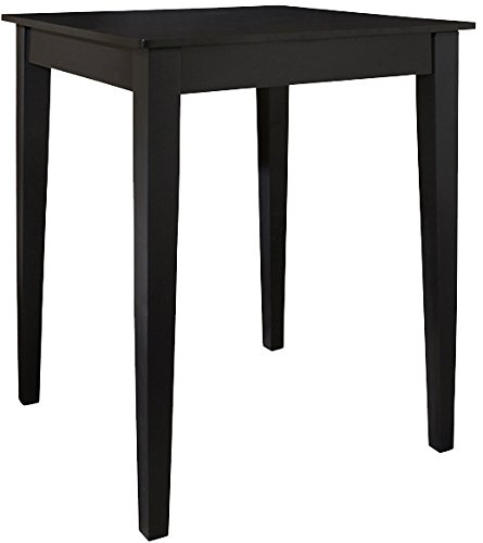 Crosley Furniture 32-inch Tapered Leg Pub Table - Black