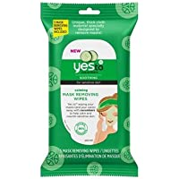 16-Pack Yes To Cucumbers Calming Mask Removing Wipes