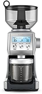 Breville BCG820BSSXL The Smart Grinder Pro Coffee Bean Grinder, Brushed Stainless Steel (Renewed)