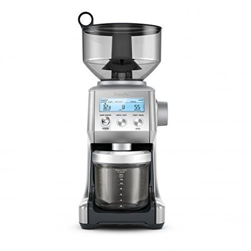 Breville RM-BCG820BSSXL The Smart Grinder Pro Coffee Bean Grinder, Brushed Stainless Steel (Certified Refurbished)