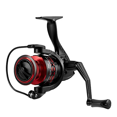 YING-pinghu Carretes giratorios Spinning Reel 10 BB 5.2: 1 Ratio de Engranajes 9kg MAX MAX Drag Graphite Cuerpo Hollow Brox Ready Spool Ultra Light Pesca Reel Carrete de Pesca Suave Ultraligero