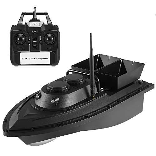 Lixada Barco de Cebo de Pesca Inteligente Inalámbrico Control Remoto Juguete Alimentador de Pesca RC Barco de Pesca Alcance Remoto 500m