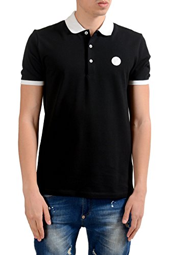 Versace Collection Men's Black Short Sleeves Polo Shirt US XL IT 54;