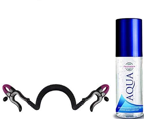 Schamlippen-Spreizer Schamlippenklemmen Vaginaldilatator Silikon Spreizer zur gezielten Stimulation von G-Punkt und Klitoris Sexspielzeug für Frauen Paare