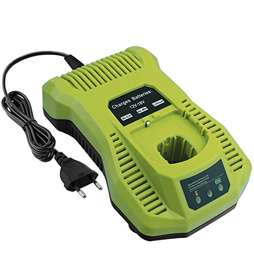 ADVTRONICS 3A 12V-18V P117 Cargador de repuesto para Ryobi 12V-18V NI-CD NI-MH batería de ion de litio P100 P101 P102 P103 P104 P105 P106 P107 P108