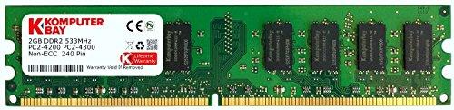 Komputerbay KB 2GB - Memoria RAM de 2 GB (DDR2, 533 MHz, 240