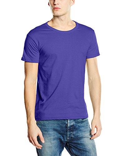 Stedman Apparel Herren Ben (Crew Neck)/ST9000 Premium T-Shirt, Lila (Deep Lilac), XXL