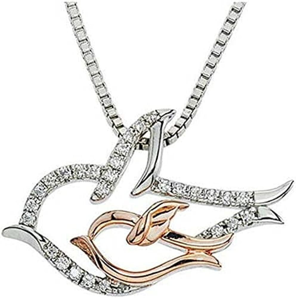 Elegant Touch Mother Bird and Chicago Mall Her T Chick Pendnat Baby Charm 14K Mesa Mall