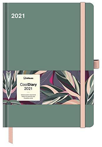 Sage Green 2021 - Diary - Buchkalender - Taschenkalender - 16x22: Cool Diary