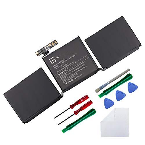 Batería de repuesto A1713 compatible con Apple MacBook Pro 13'A1708 MLL42CH/A MLUQ2CH/A Late 2016 Mid 2017 versión A1713 Internal AKKU + herramientas