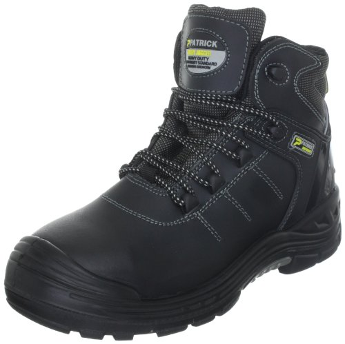 Safety Jogger 72103, Unisex - Erwachsene Arbeits- & Sicherheitsschuhe - S2, Schwarz (BLK), 44 EU (10 UK)