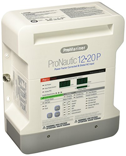 Photo of Beige ProMariner ProNautic 1220P 3-Bank Marine Charger