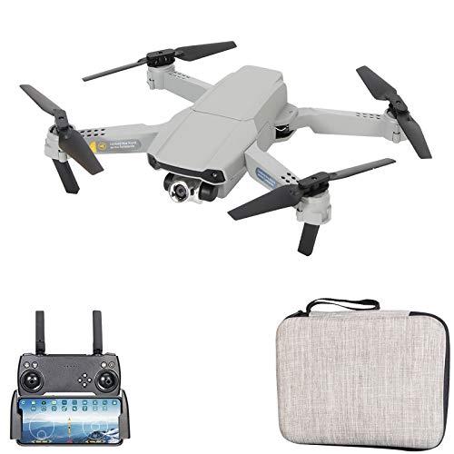 GoolRC X2 RC Drone con Doble Cámara 4K Mini Drone Quadcopter Plegable para Niños con Función Trayectoria Vuelo Modo sin Cabeza Vuelo 3D Auto Hover con 2 Baterías (Cámara única, 1 Batería)