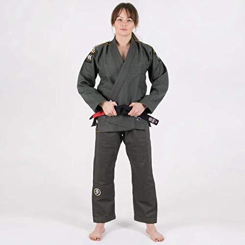 Tatami BJJ Gi Nova Absolute Khaki Jiu Jitsu Kimono Free White Belt (F2)