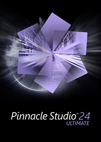Pinnacle Studio 24 Ultimate | Logiciel avancé de montage vidéo et d'enregistrement d'écran | Ultimate | 1 appareil | PC | Code d'activation PC - envoi par email