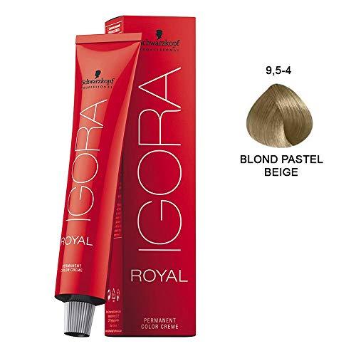 Schwarzkopf IGORA Royal- 9,5-4 Beige Permanente Farbcreme- 9,5-4 Beige, 60 ml