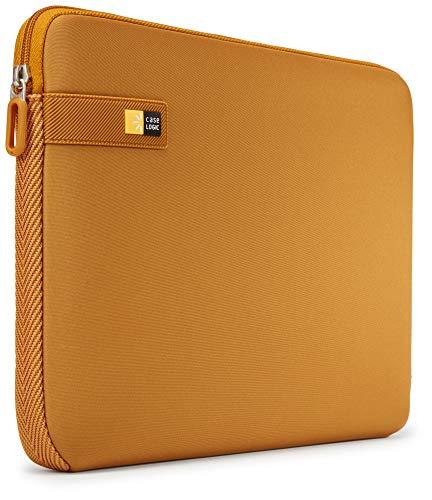 Case Logic LAPS Notebook Hulle fur 14 Zoll Laptops ultraschmales Sleeve ImpactFoam Schaumpolsterung fur Rundumschutz Laptop Tasche ideal fur Chromebook oder Ultrabook Buckthorn