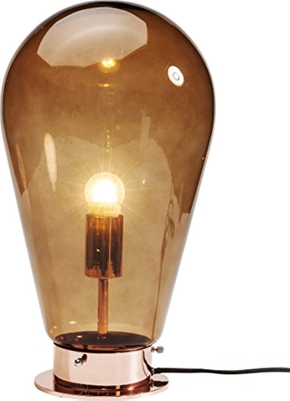 Kare Tischleuchte Bulb, 39835, moderne, groe Design Tischlampen, kupfer (H B T) 42,5x22x22cm