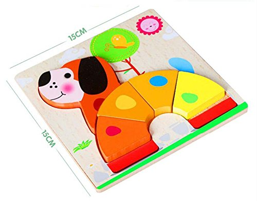 Black Temptation Motif Cartoon Colorful Jigsaw Puzzle Cut Puzzles en Bois pour bébés Enfants