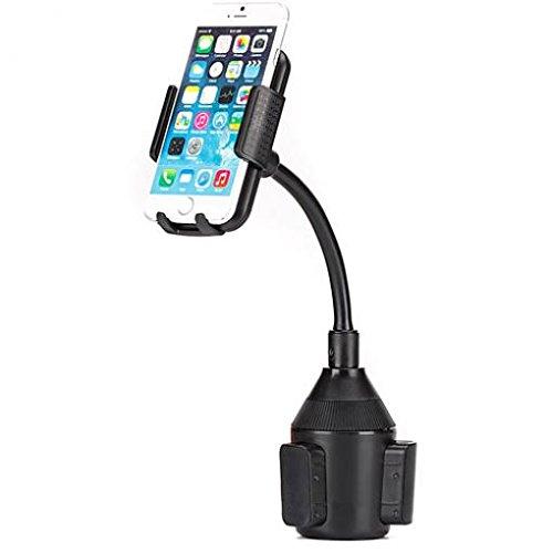 Premium Car Cup Holder Phone Mount Rotating Dock Gooseneck for Verizon LG Stylo 2 V - Verizon LG V10 - Verizon LG V20 - Verizon Motorola DROID MAXX