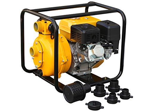 Rotek Hochdruck Motorpumpe mit 4-Takt Benzinmotor WPG4-HP-0300-80-5H, bis zu 75m Förderhöhe, Stage-V