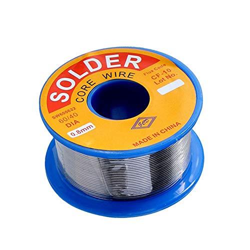 1PC saldatura filo di stagno con Flux Rosin core 0,8 millimetri No Clean per Electrical saldatura saldatura fai da te 100g