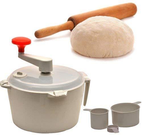 USPECH Plastic Automatic Atta Roti Maker for Home(White)