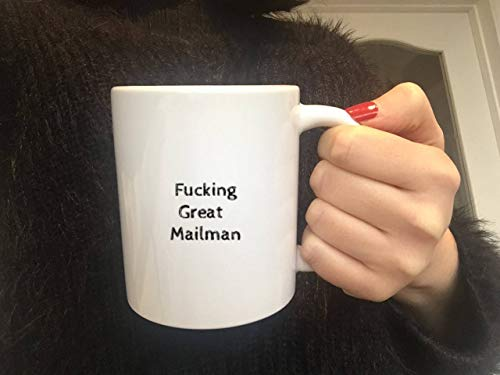 Taza de cartero, regalo de cartero, correo postal, trabajador postal, regalo de jubilación, regalo divertido, taza de café, taza de cartero, regalo para hombres
