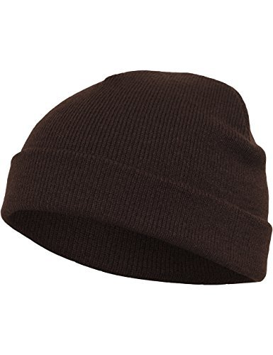 Flexfit Mütze Heavyweight Beanie, brown, one size, 1500KC-00075-0050 by Flexfit