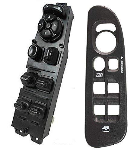 SWITCHDOCTOR Window Master Switch & Black Bezel for 2002-2009 Dodge Ram (4 Door)