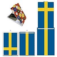 POKET MIRROR ☆ ポケットミラー 【完全受注生産】 オリジナルプリント 鏡 コンパクト 国旗 スウェーデン オリジナルデザイン プリント 日本製