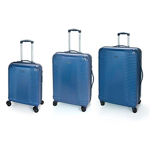 Set 3 Maletas C22-M-L Balance Gabol Azul