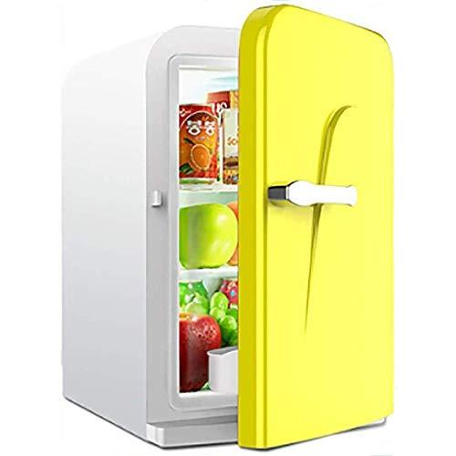 Fee-ZC Car Home Koelkast, stille desktop-minibar, klein, 16 liter, koelkast, verwarming en koelbox, geschikt voor cosmetica en koelkast