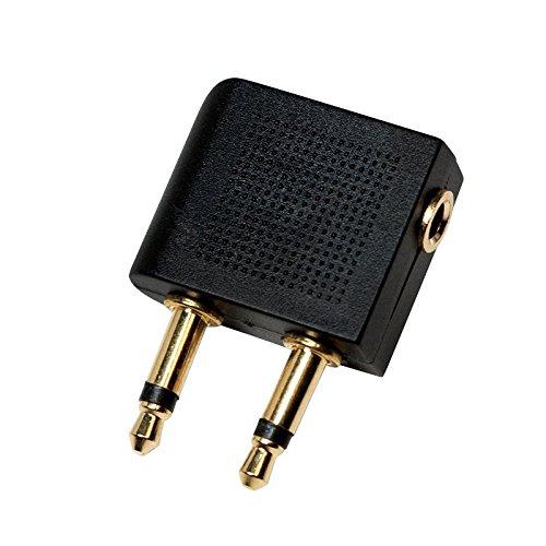 LogiLink CA1089 Audio Adapter voor de vliegtuigstoel audioaansluiting