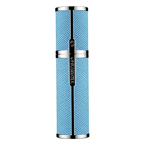 Travalo Atomiseur de Parfum Milano Bleu Clair pour Vaporisateur Rechargeable Unisexe de 0,17 oz Vide