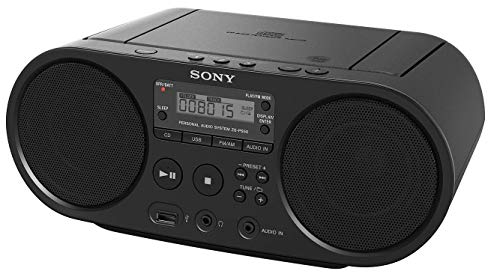 Portable Sony CD Player Boombox Digital Tuner AM/FM Radio Mega Bass Reflex Stereo Sound System