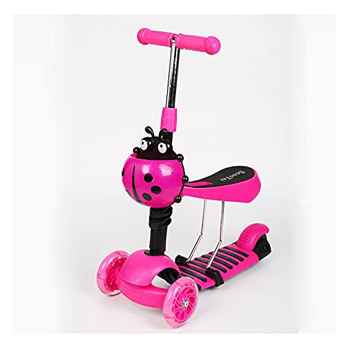 The Height of 3-Wheel Children's Scooter can be Adjusted in 4 Levels. The Scooter can be Equipped with PU Luminous Wheels. It is Suitable for Boys and Girls' Toys. It can Bear 50KG -B/A