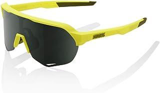 100 Percent - S2-Soft TACT Banana-Grey Green Lens Gafas, Hombres, Amarillo-Cristal Oscuro, Mediano